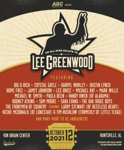 Lee Greenwood All-Star Salute