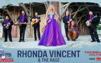 Rhonda Vincent & The Rage To Headline Springer Mountain Farms Bluegrass Nights At The Ryman July 8 at 7:30pm