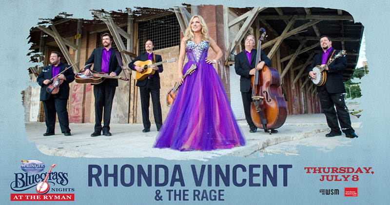 Rhonda Vincent and The Rage - Bluegrass Nights At The Ryman