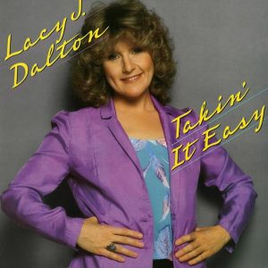 """Lacy J. Dalton """"Takin' It Easy"""" album cover"""