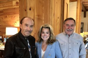 Lee Greenwood with Patti and Louis Breland