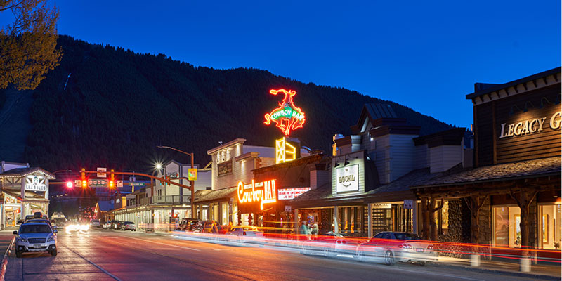 The Million Dollar Cowboy Bar - Jackson, Wyoming
