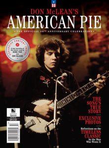 Don McLean's 'American Pie' bookazine cover