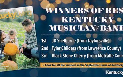 JD Shelburne Presented With 2021 'Best Kentucky Musician/Band' Award By Kentucky Living Magazine