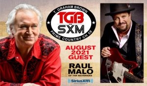 T. Graham Brown and Raul Malo on SiriusXM's Live Wire on Prime Country Channel 58