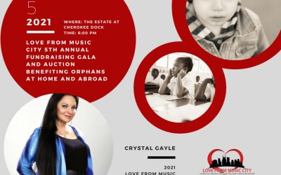 Love From Music City Announces Their 5th Annual Gala October 5th, 2021 With Silent Auction, Live Entertainment, And More