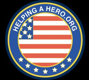 Helping A Hero logo