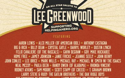 LEE GREENWOOD ALL-STAR SALUTE TO BECOME TELEVISION SPECIAL