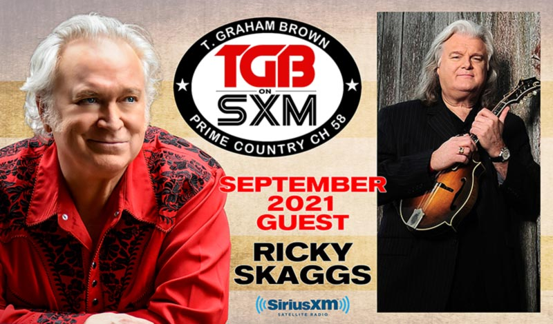 T. Graham Brown's Live Wire featuring Ricky Skaggs on SiriusXM