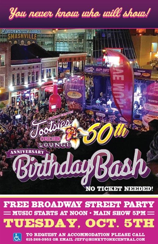 Tootsie's 60th Birthday Bash