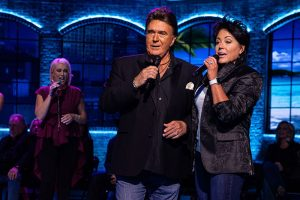 T.G. Sheppard and Kelly Lang